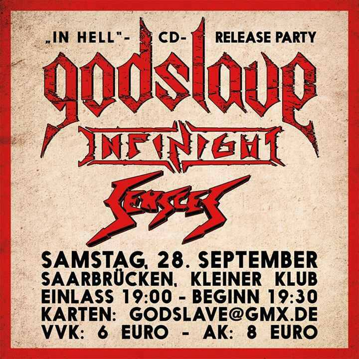 InfiNight - Godslave release Party