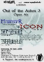 Out of the Ashes III (Open Air)